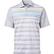 Walter Hagen Men's Perfect 11 Scattered Stripe Golf Polo