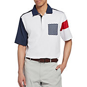 Walter Hagen Men's Perfect 11 Stars Pocket Golf Polo