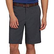 Walter Hagen Men's 11 Majors Tonal Plaid Golf Shorts