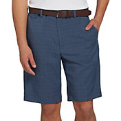Walter Hagen Men's 11 Majors Tonal Plaid Golf Shorts