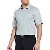 Walter Hagen Men's 11 Majors Textured Solid Golf Polo