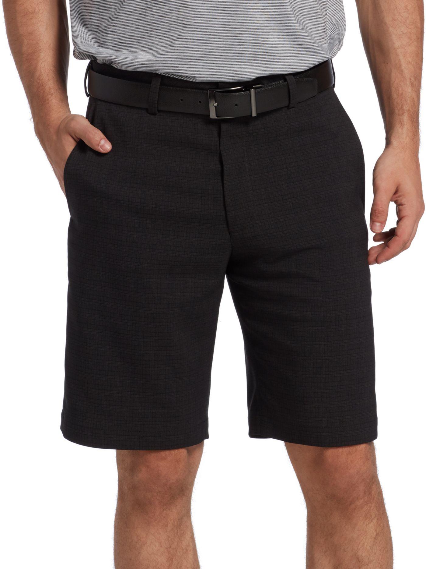 Walter Hagen Men's 11 Majors Plaid Golf Shorts