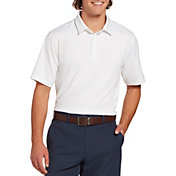 Walter Hagen Men's 11 Majors Solid Golf Polo