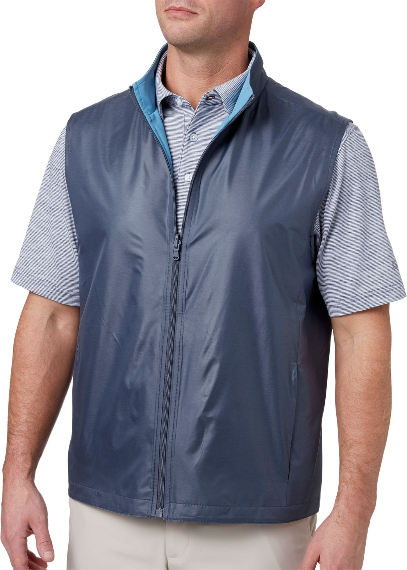Walter Hagen Men's Reversible Woven Golf Vest