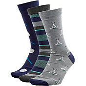 Walter Hagen Men's Fashion Crew Golf Socks - 3 Pack