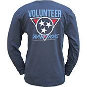 Volunteer Traditions Men's 90's Tristar Long Sleeve T-Shirt