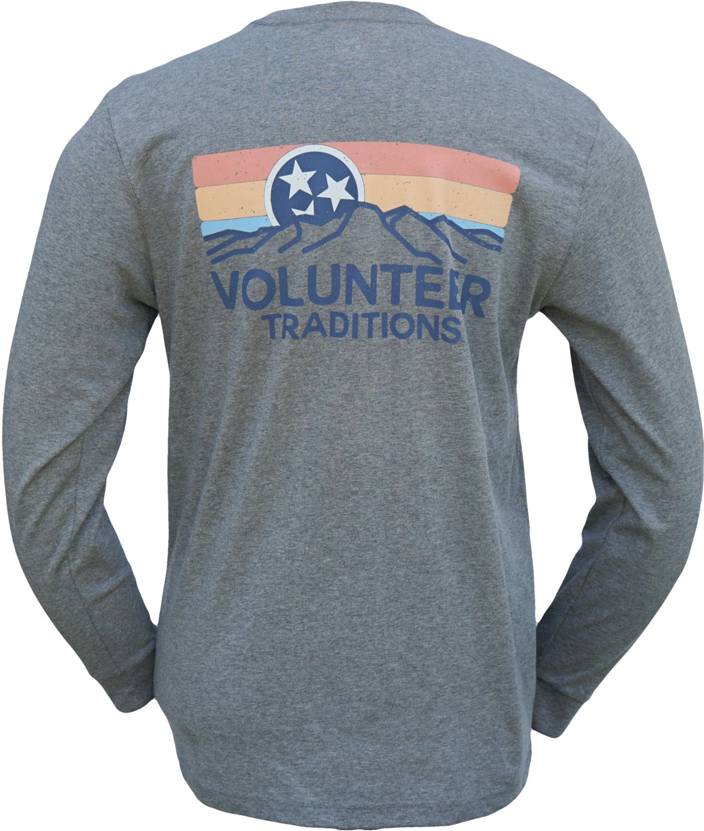 Volunteer Traditions Men's Tennessee Horizon Long Sleeve T-Shirt