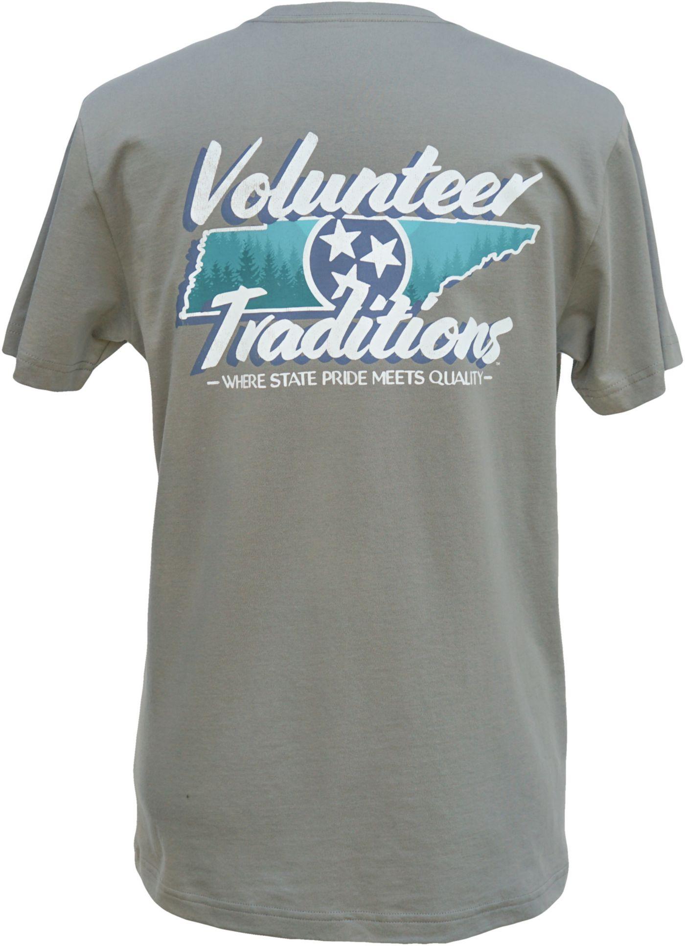 Volunteer Traditions Men's Tennessee Outline Pocket T-Shirt