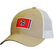 Volunteer Traditions Tennessee Flag Promesh Trucker Hat