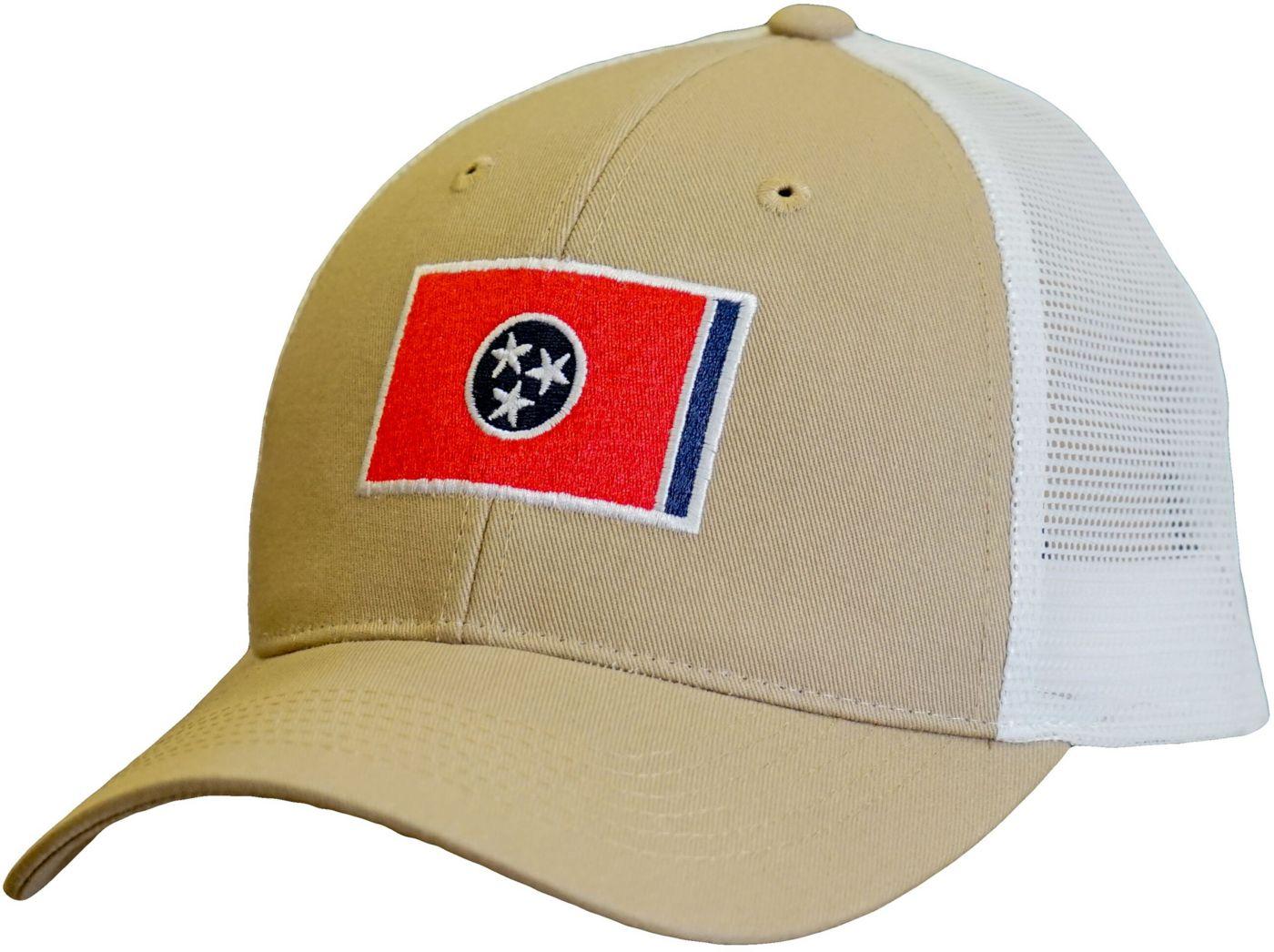 Volunteer Traditions Tennessee Flag Promesh Trucker Hat
