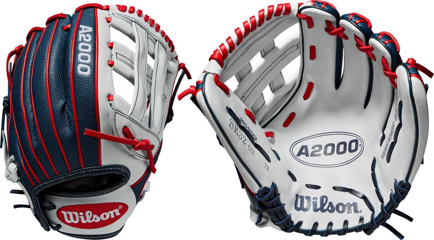 Wilson 12'' Sierra Romero A2000 SuperSkin Series Game Model Fastpitch Glove 2020