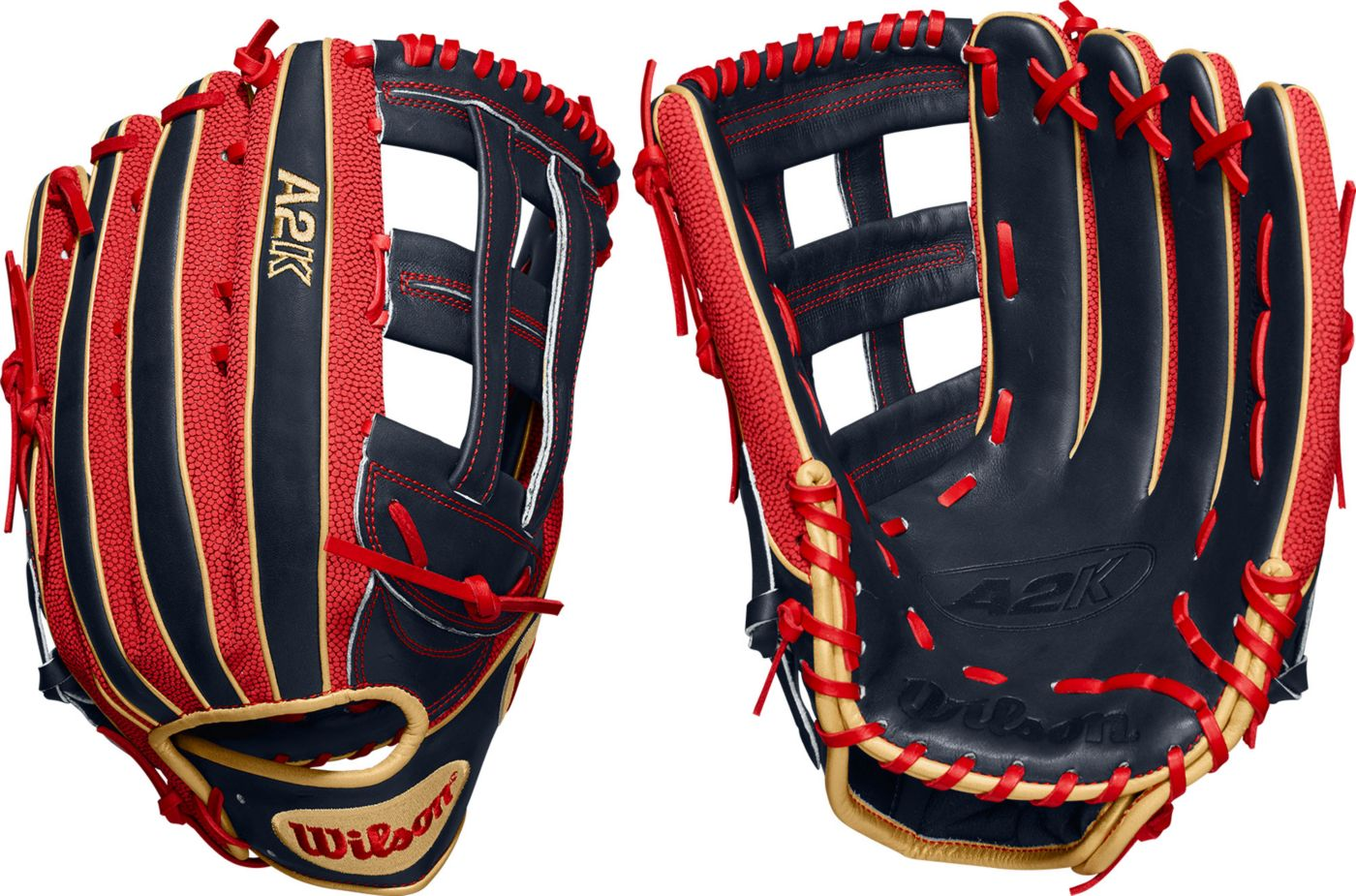 Wilson 12.75'' Mookie Betts A2K SuperSkin Series Game Model Glove 2020