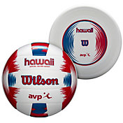 Wilson Hawaii AVP Malibu Outdoor Volleyball with Disc