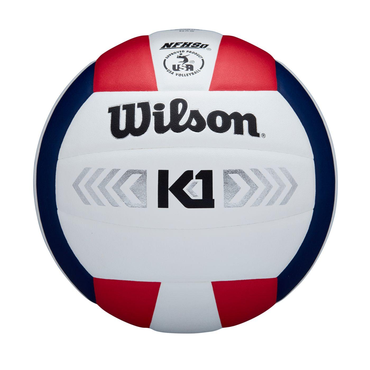 Wilson K1 Silver Indoor Volleyball