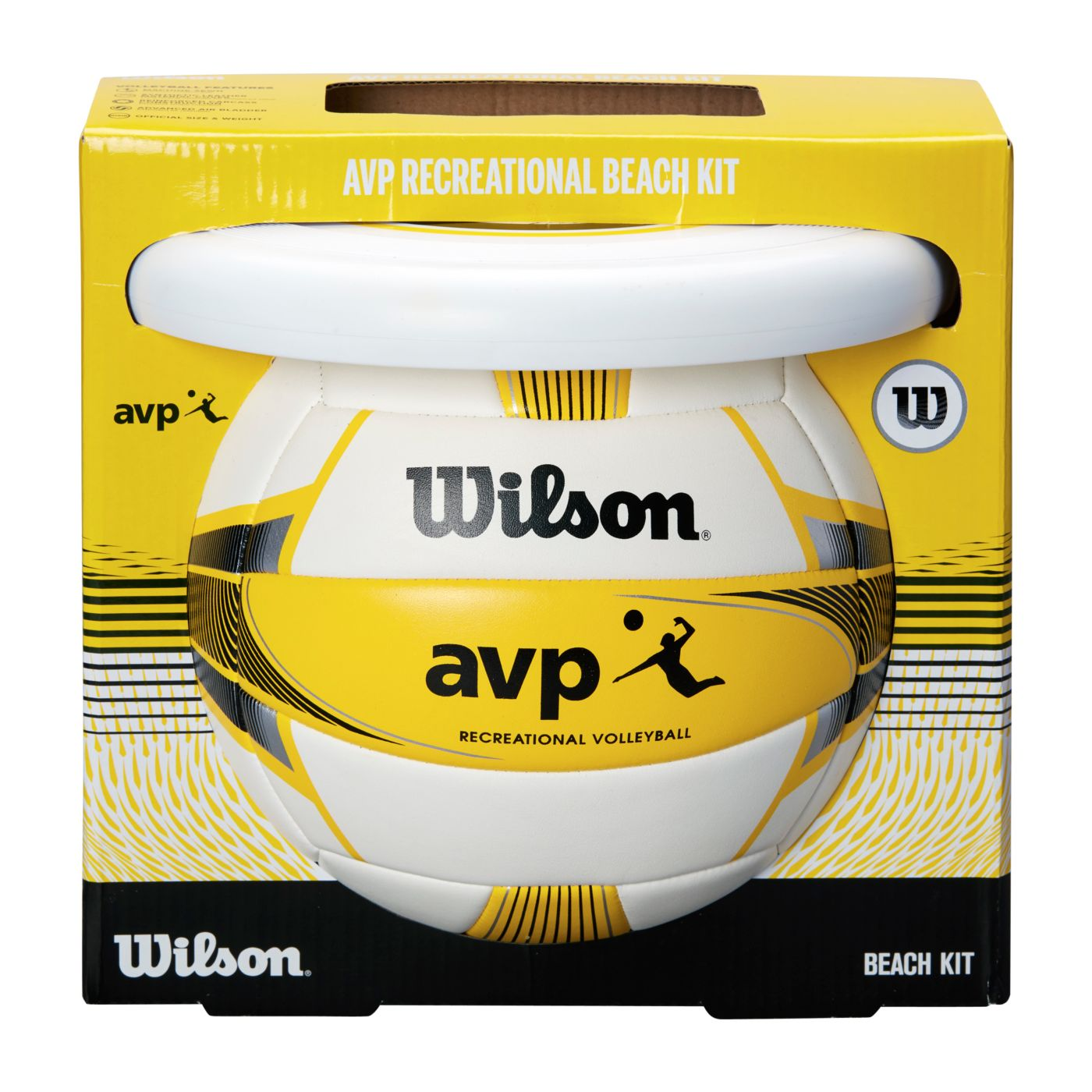 Wilson AVP Beach Outdoor Volleyball with Disc