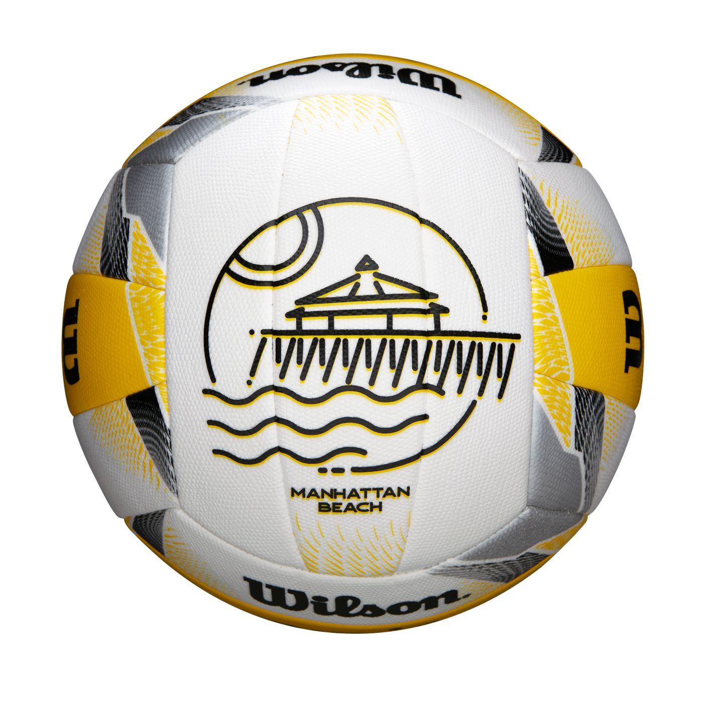Wilson AVP Replica City Manhattan Beach Outdoor Volleyball