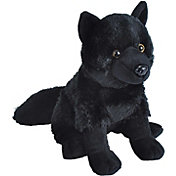 Wild Republic Cuddlekin Black Wolf Stuffed Animal