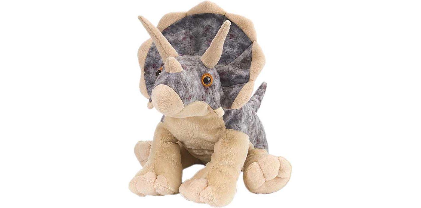 Wild Republic Triceratops Stuffed Animal