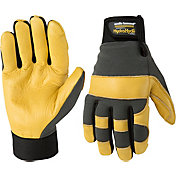 Wells Lamont Men's HydraHyde Leather Work Gloves
