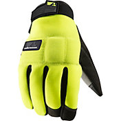 Wells Lamont Men's FX3 Hi-Visibility Padded Synthetic Leather Palm Winter Work Gloves