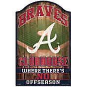"Wincraft Atlanta Braves 11"" x 17"" Sign"