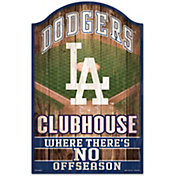"Wincraft Los Angeles Dodgers 11"" x 17"" Sign"