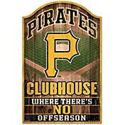 "Wincraft Pittsburgh Pirates 11"" x 17"" Sign"