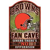 "Wincraft Cleveland Browns 11"" x 17"" Sign"