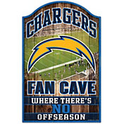 """Wincraft Los Angeles Chargers 11"""" x 17"""" Sign"""