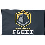 Wincraft Alliance of American Football San Diego Fleet One-Sided 3' x 5' Flag