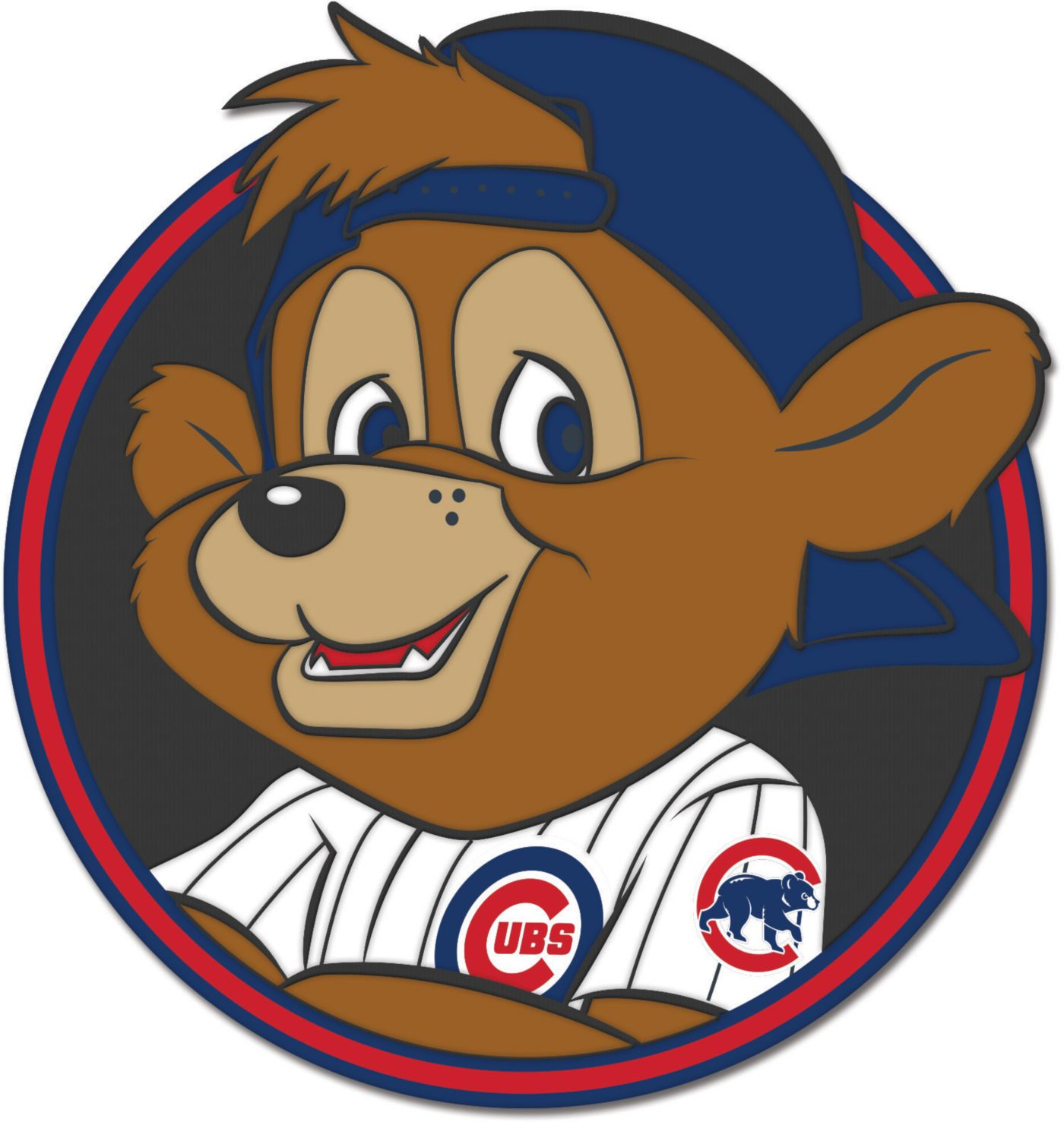 WinCraft 2019 Little League Classic Chicago Cubs Mascot Pin