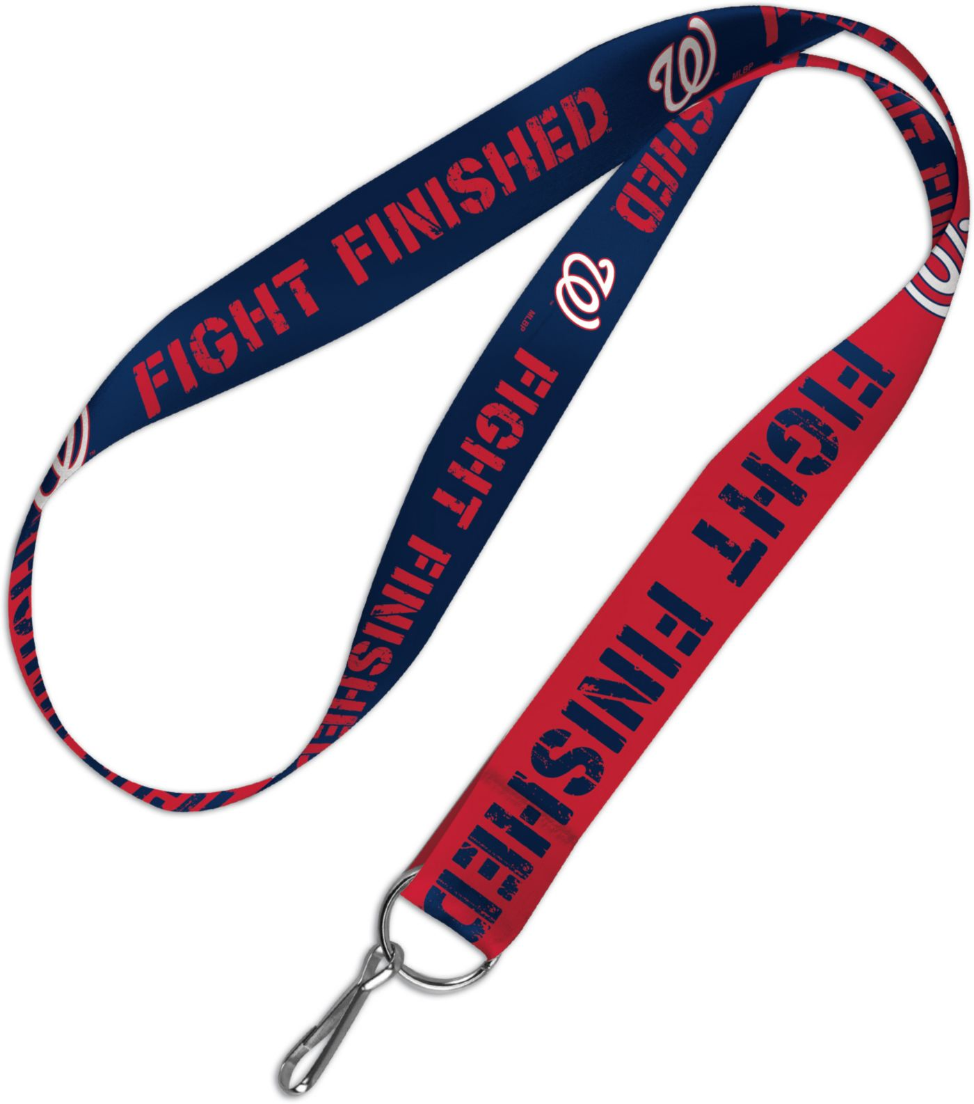 WinCraft Washington Nationals Fight Finished Lanyard