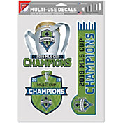 WinCraft 2019 MLS Cup Champions Seattle Sounders Decal Set