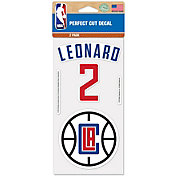 WinCraft Los Angeles Clippers Kawhi Leonard 2 Pk. Decal