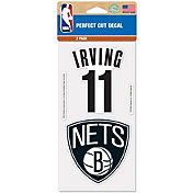 WinCraft Brooklyn Nets Kyrie Irving 2 Pk. Decal