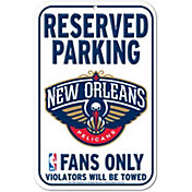 Wincraft New Orleans Pelicans License Parking Sign