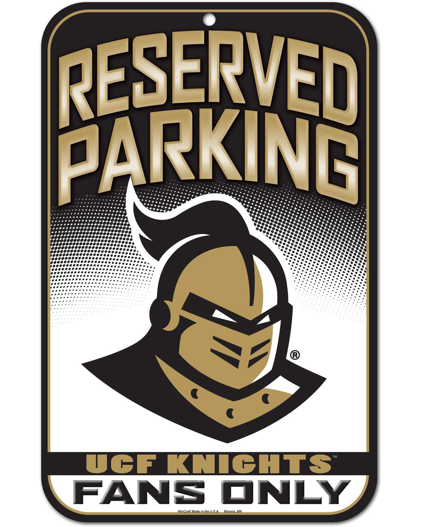 "Wincraft UCF Knights 11"" x 17"" Sign"