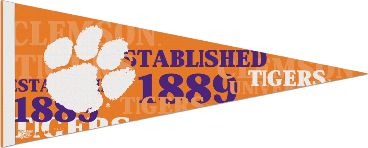 WinCraft Clemson Tigers Pennant