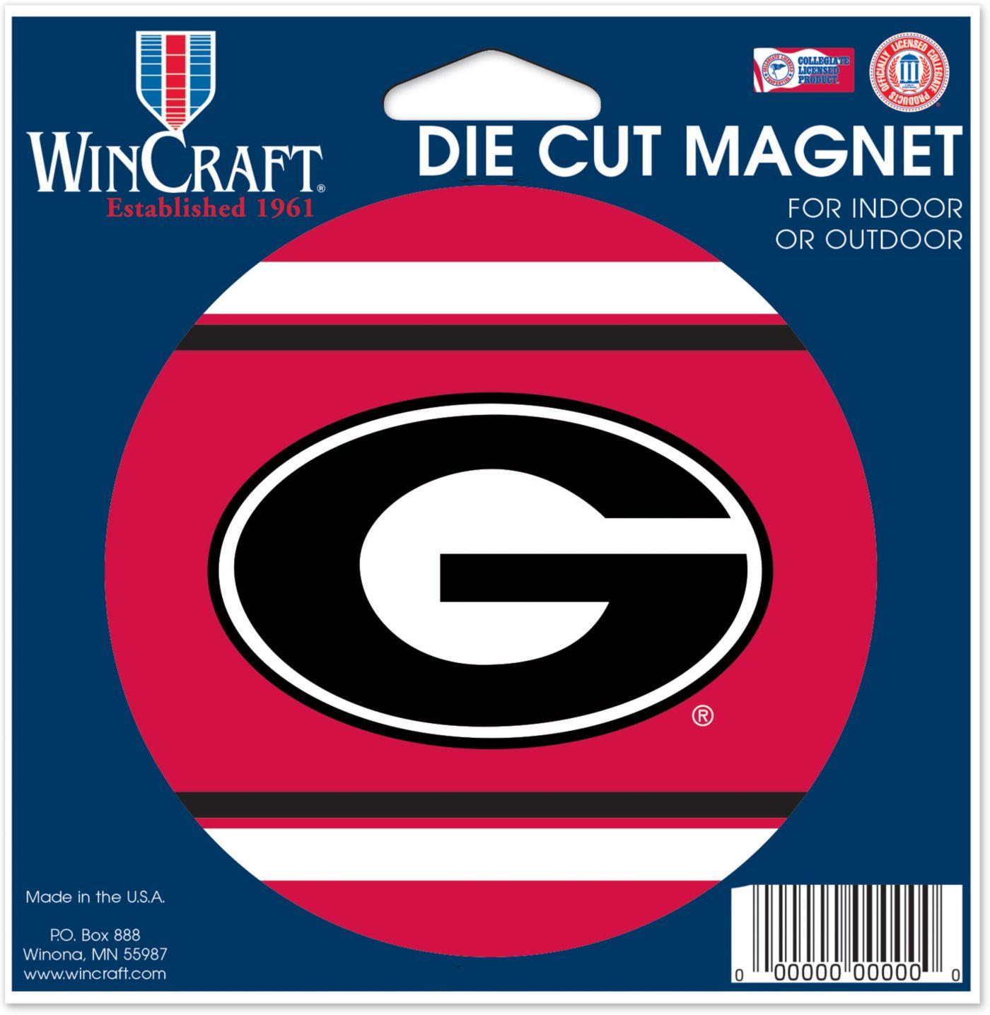 WinCraft Georgia Bulldogs Die-Cut Magnet