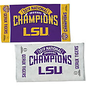 WinCraft 2019 National Champions LSU Tigers Locker Room Towel