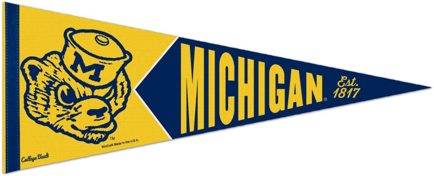 WinCraft Michigan Wolverines Vault Pennant