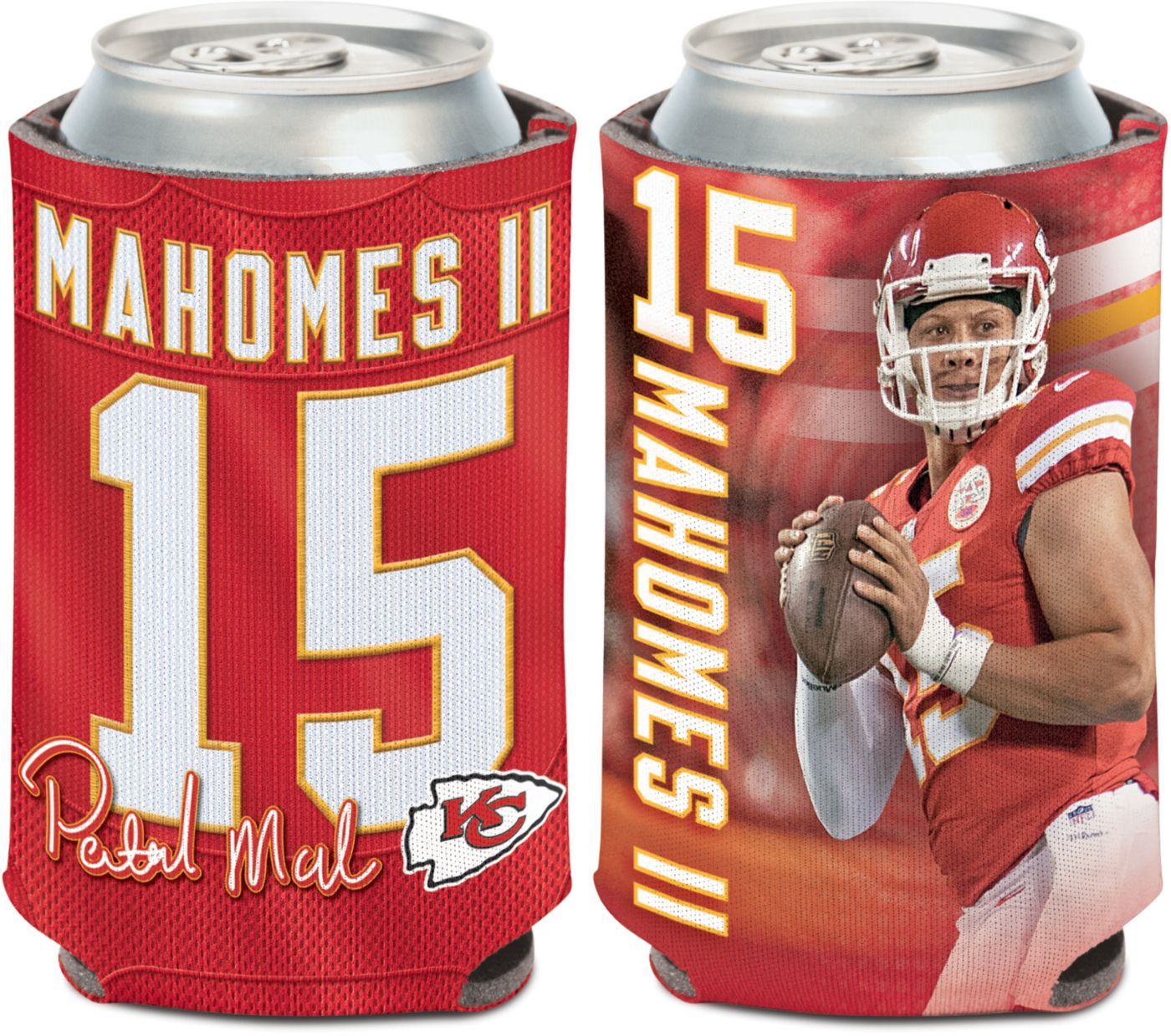 WinCraft Kansas City Chiefs Patrick Mahomes Can Cooler