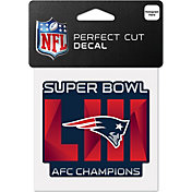 WinCraft AFC Conference Champions New England Patriots Decal Sheet