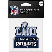 WinCraft Super Bowl LIII Champions New England Patriots Decal