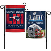 WinCraft Super Bowl LIII Champions New England Patriots Garden Flag
