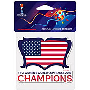 WinCraft 2019 FIFA Women's World Cup Champions USA Soccer Decal