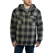 Wolverine Men's Byron Hooded Sherpa Shirt Jacket
