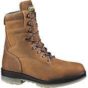 "Wolverine Men's DuraShocks 8"" 200g Waterproof Wide Steel Toe Work Boots"