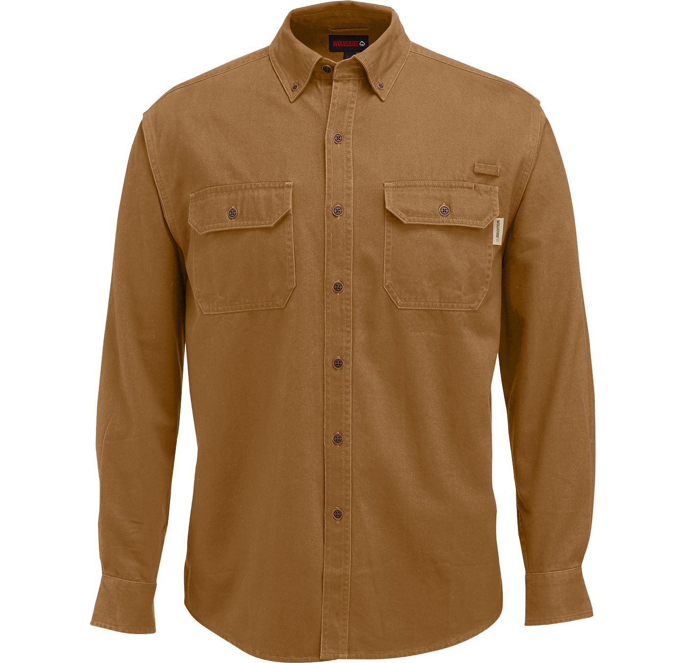 Wolverine Men's Fletcher Twill Work Shirt