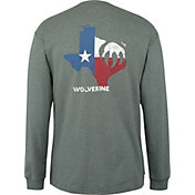 Wolverine Men's Flame Resistant Graphic Long Sleeve Shirt